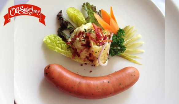 Old-Swiss-Inn-Smiling-Sausage