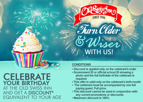 OSIR Birthday Discount Promo